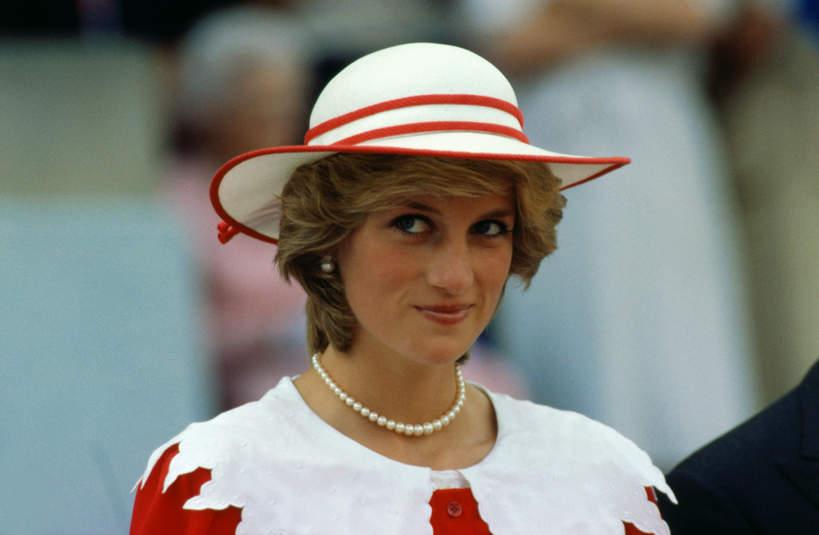 Księżna Diana uśmiech