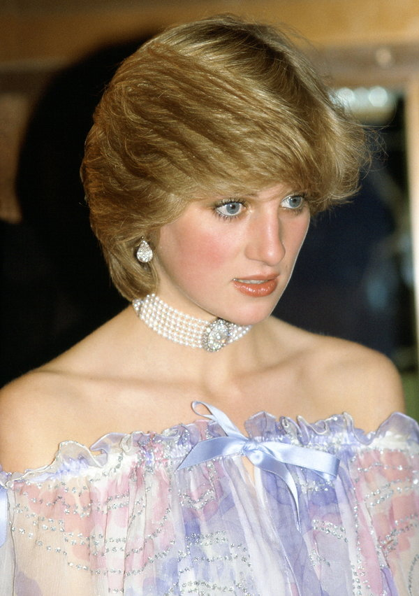 Księżna Diana w 1981 roku