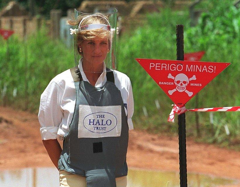 Księżna Diana w Angoli