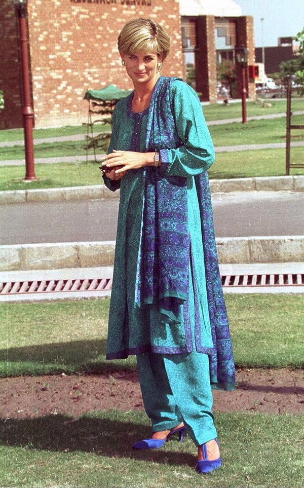 Księżna Diana w Pakistanie