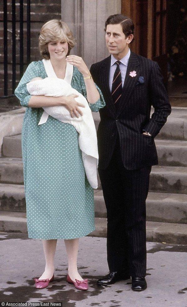 Księżna Diana z księciem Williamem