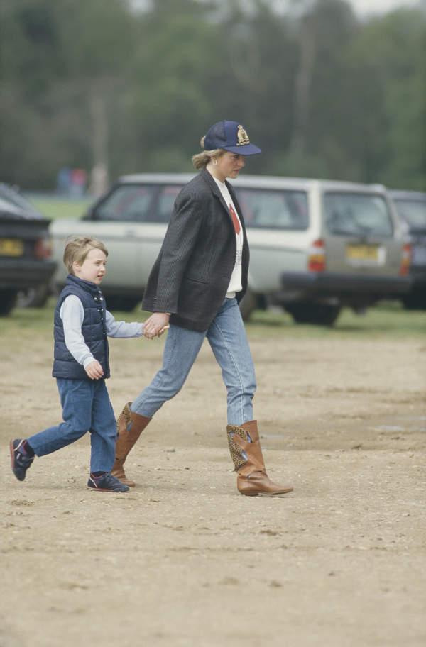 ksieżna Diana z synami