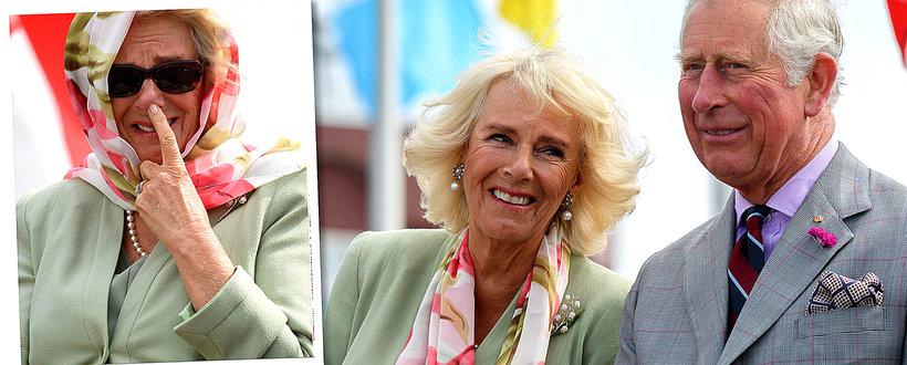Księżna Kamila (Camilla  Parker Bowles) i książę Karol