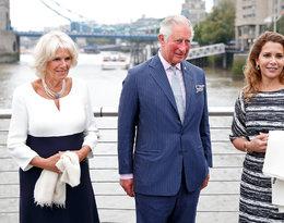 Księżna Kamila, książę Karol, księżniczka Haya