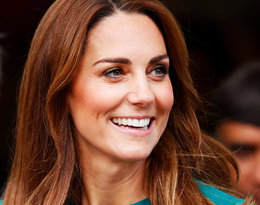 Księżna Kate na spotkaniu w Londynie w szmaragdowej sukience!