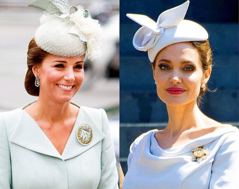 Księżna Kate, Angelina Jolie