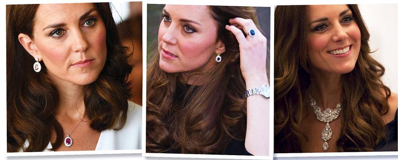Księżna Kate, biżuteria