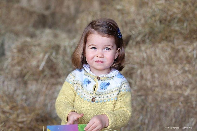 Księżna Kate fotografem, księżniczka Charlotte