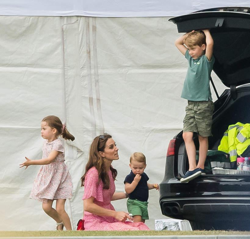 Księżna Kate, George, Charlotte, Louis