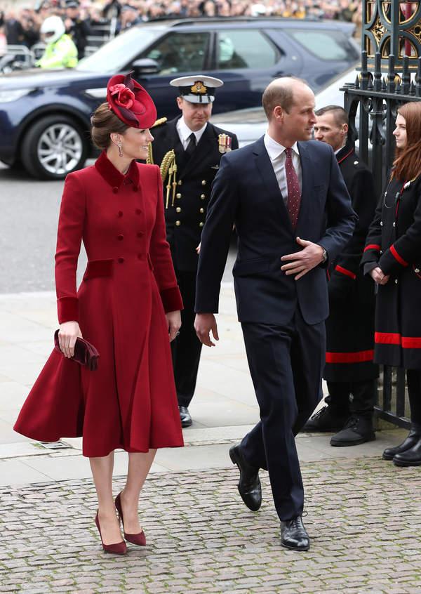 Księżna Kate i książę William, Dzień Wspólnoty Narodów