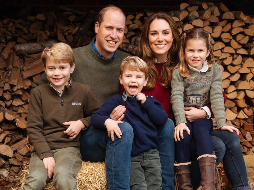 Księżna Kate i książę William z dziećmi: Georgem, Louisem i Charlotte