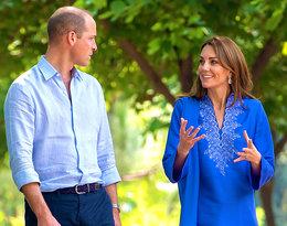 Księżna Kate i książęWilliam, royal tour Pakistan 2019