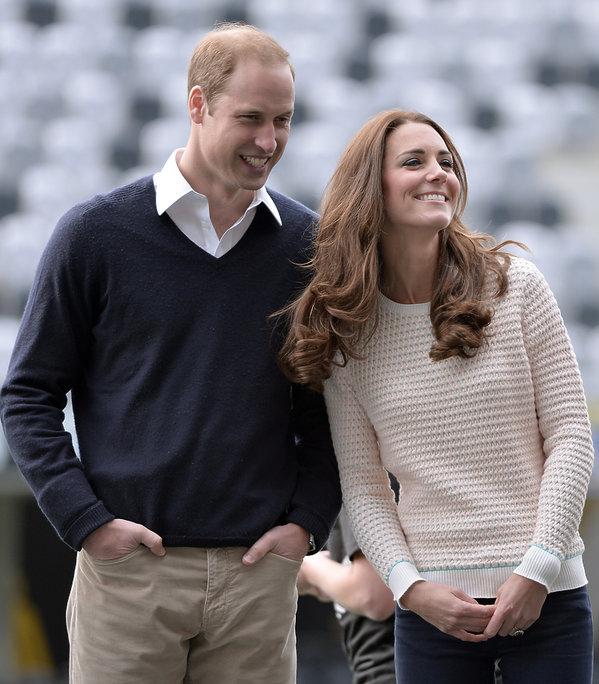 księżna Kate i książęWilliam w Nowej Zelandii