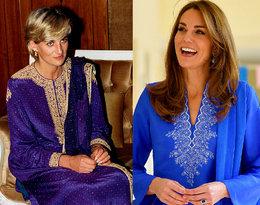 Księżna Kate wygląda olśniewająco w tradycyjnym pakistańskim stroju...