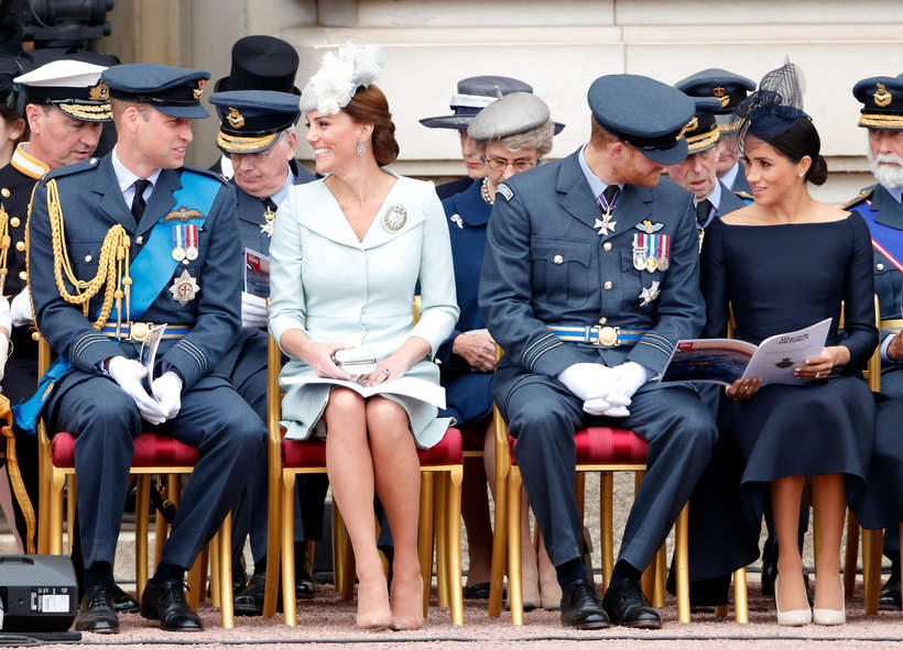 Księżna Kate i księżna MEghan