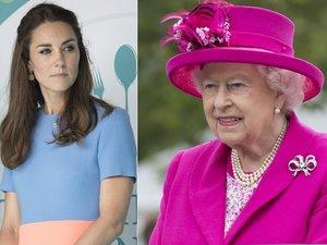 księżna Kate, królowa Elżbieta