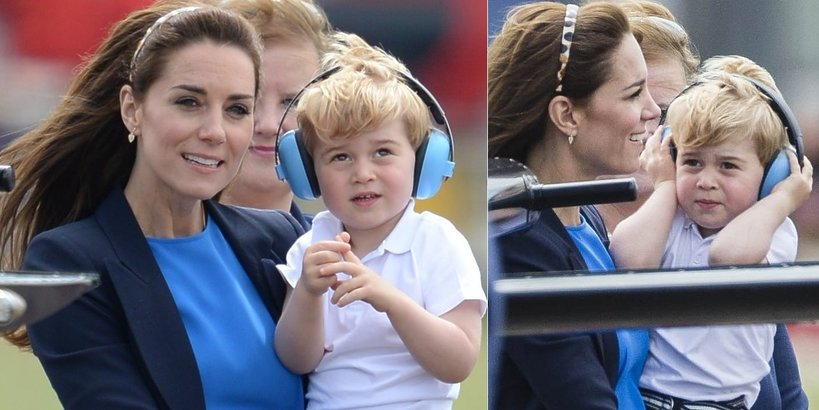 księżna Kate, książę George