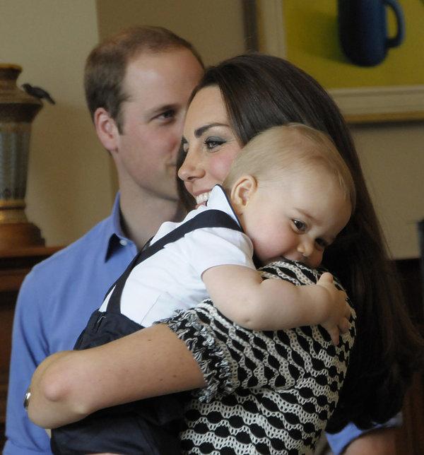 Księżna Kate, książę George, książęWilliam