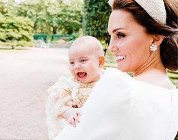 Książę Louis obchodzi dziś roczek. Dlaczego Kate i William nie pokazują go publicznie?