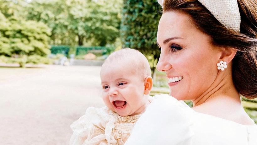 Księżna Kate, książę Louis, oficjalne fotografie z chrztu księcia Louisa