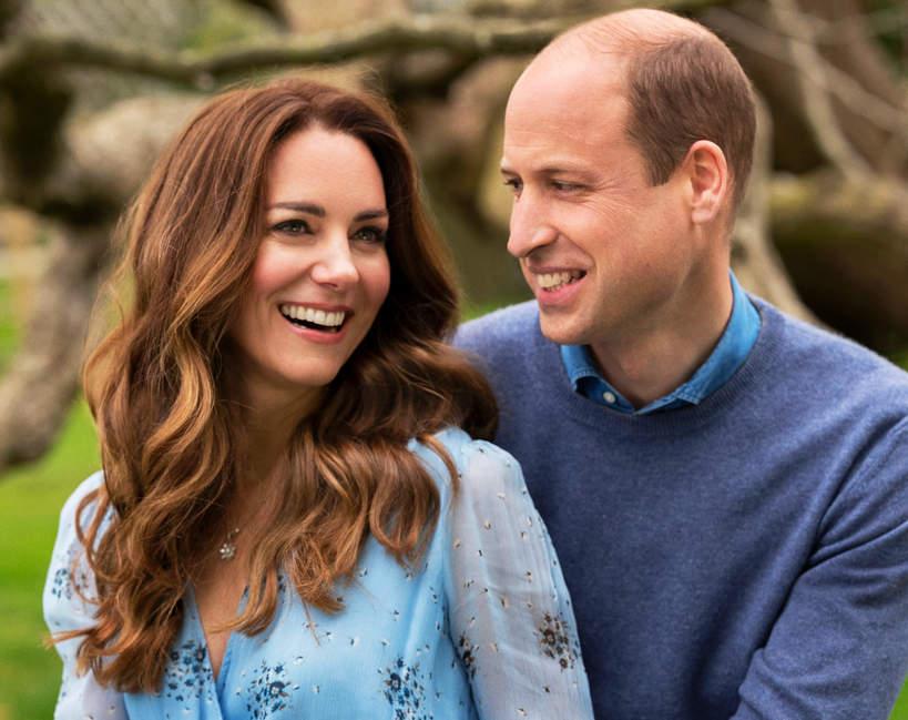 księżna Kate, książę William, 10. rocznica ślubu film z dziećmi