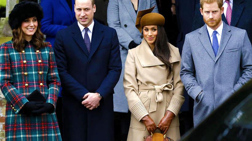 Księżna Kate, książę William, Meghan Markle, książę Hary