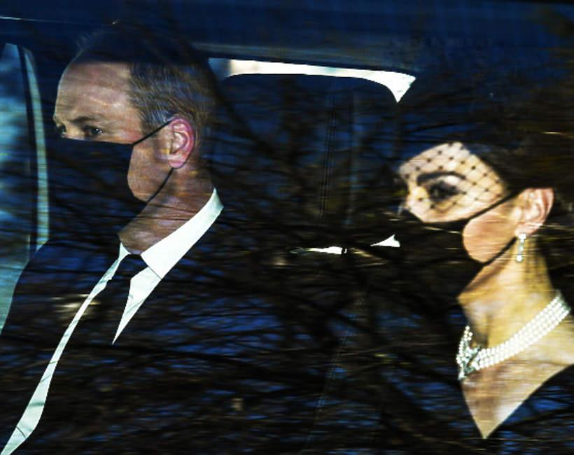 księżna Kate, książę William, pożegnanie księcia Filipa, Pogrzeb Księcia Filipa