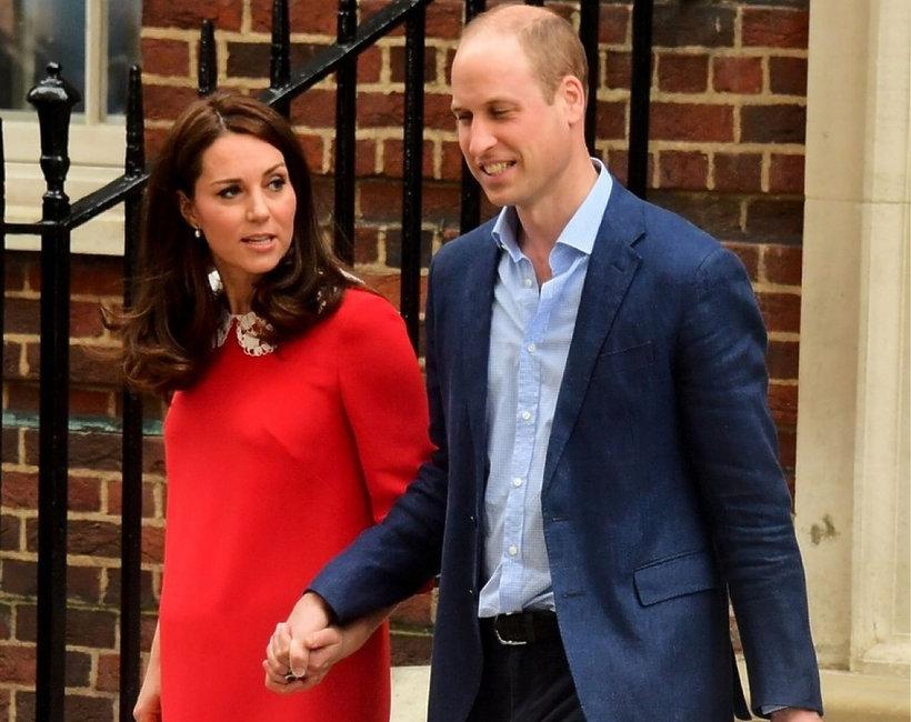 Księżna Kate, książę William, trzecie dziecko Kate i WIlliama
