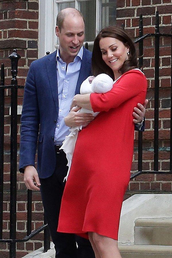 księżna Kate, książę William, trzecie dziecko Kate i Williama, narodziny królewskie