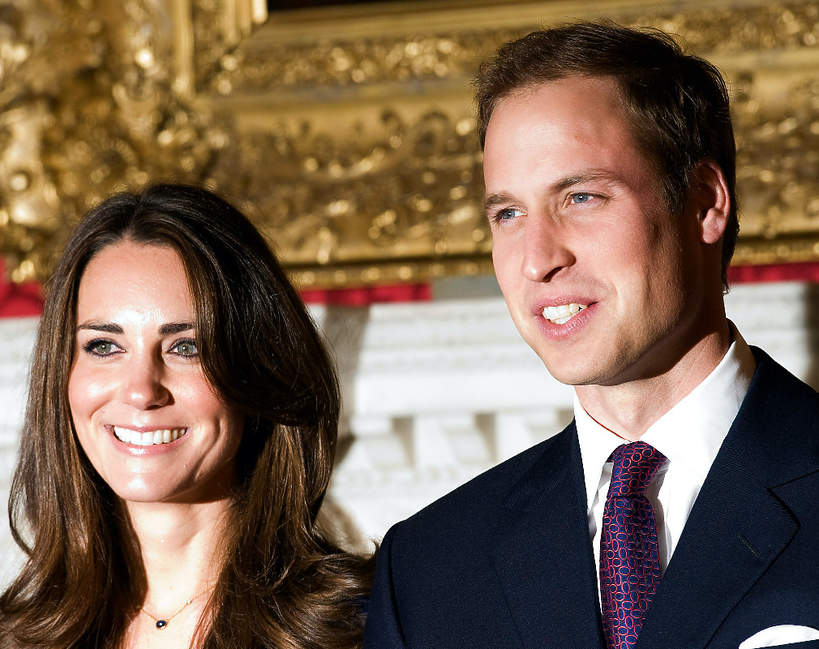 Księżna Kate, książę William, zaręczyny 16.11.2010
