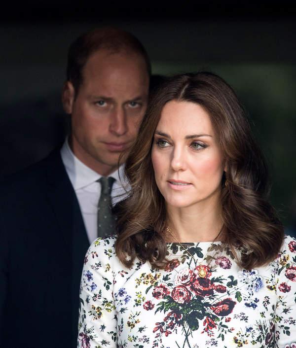księżna Kate, książęWilliam hołd dla Filipa