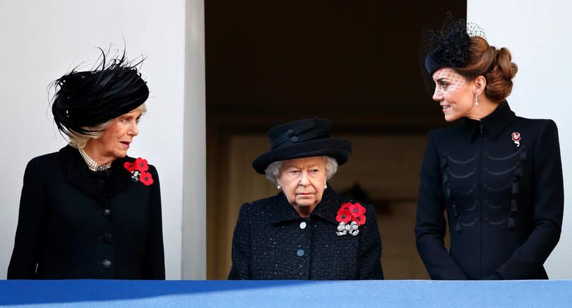 Księżna Kate, księżna Camilla