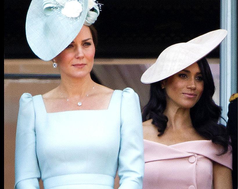 Księżna Kate, księżna Meghan, jamnik