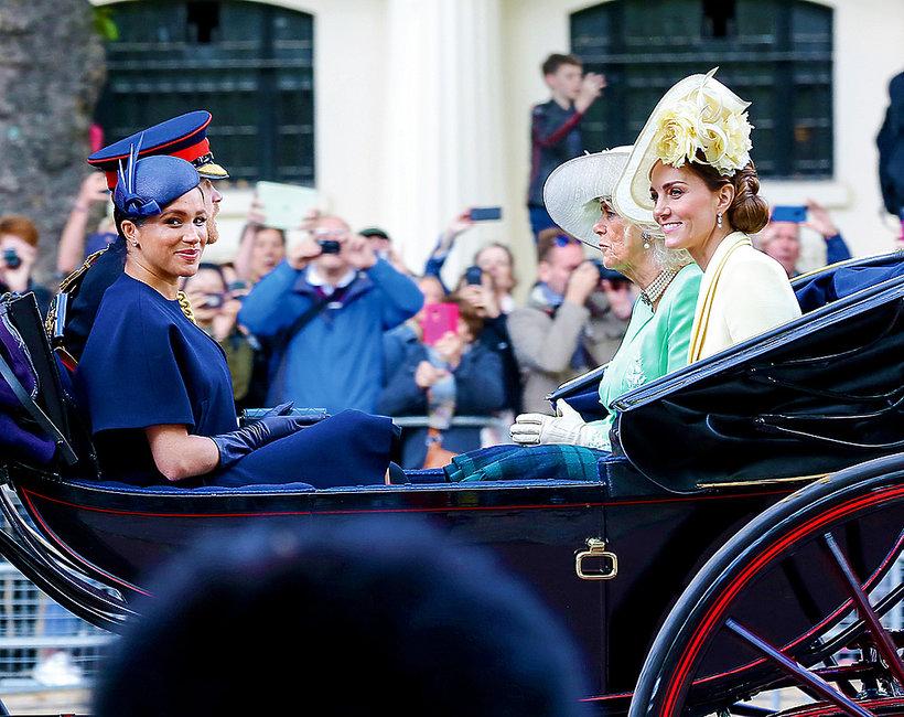 Księżna Kate, księżna Meghan, księżna Camilla