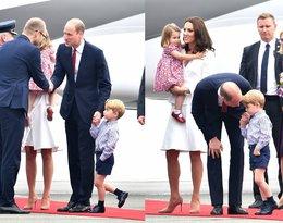 Księżna Kate, księżniczka Charlotte, książę William, książę George