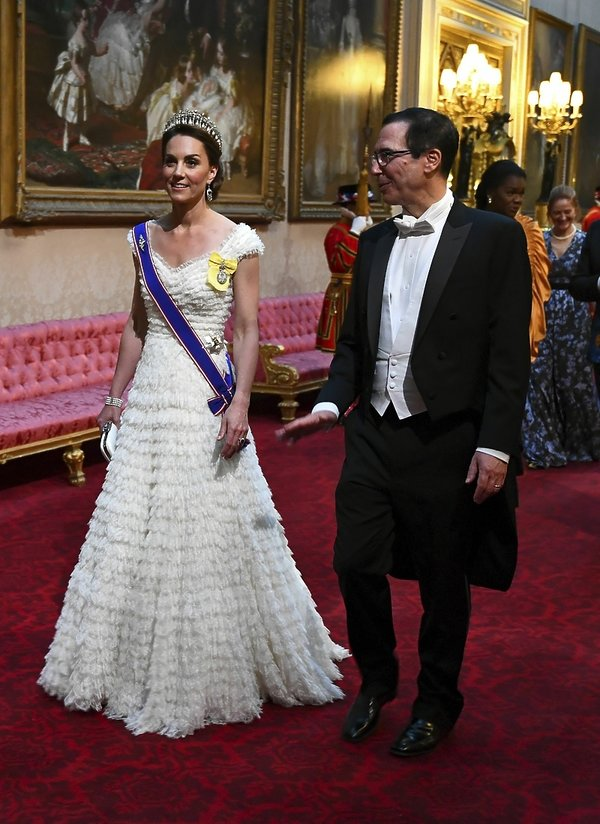 księżna Kate, Steven Mnuchin