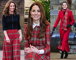 Księżna Kate zachwyca stylizacją na zimę 2021. Postawiła na swój ulubiony wzór!