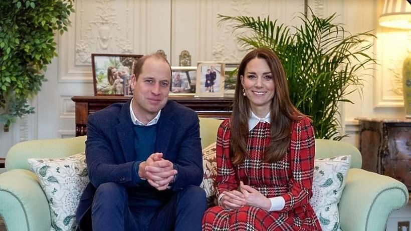 Księżna Kate sukienka w kratkę