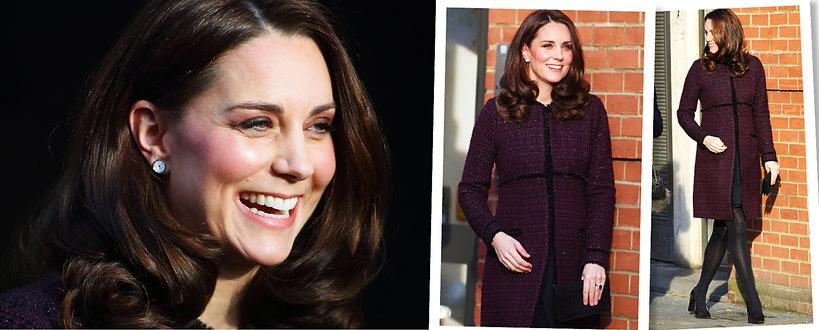Księżna Kate, trzecia ciąża księżnej Kate, Księżna Kate w ciąży, Kate Middleton