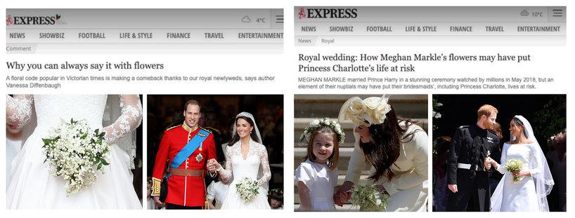 Księżna Kate vs księżna Meghan nagłówki