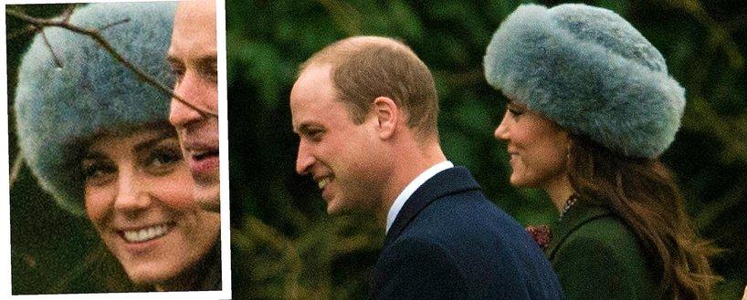 Księżna Kate w czapce z alpaki