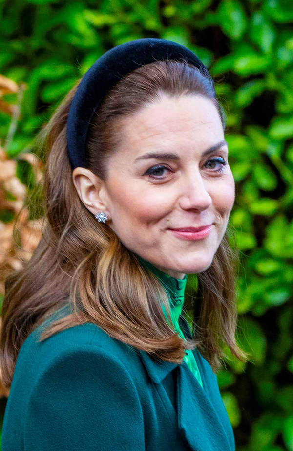 Księżna Kate w opasce