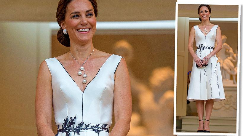księżna Kate w sukni Gosi Baczyńskiej