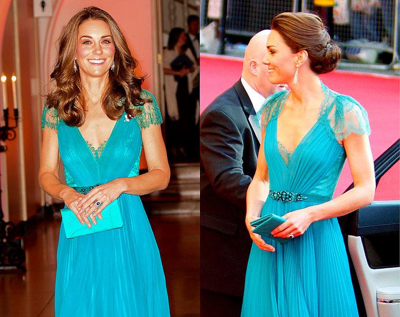 Księżna Kate w tej samej sukience, w sukience sprzed 6 lat