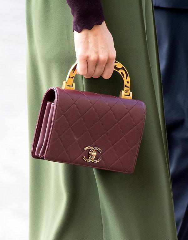 Księżna Kate z torebką Chanel w 2019
