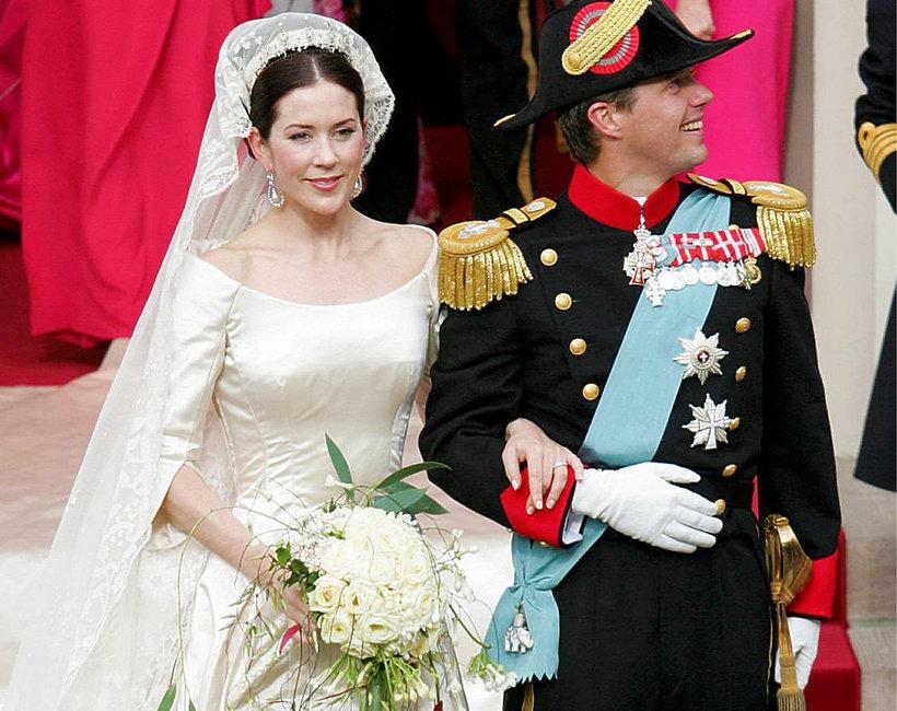 księżna Maria i książę Fryderyk, ślub, Dania