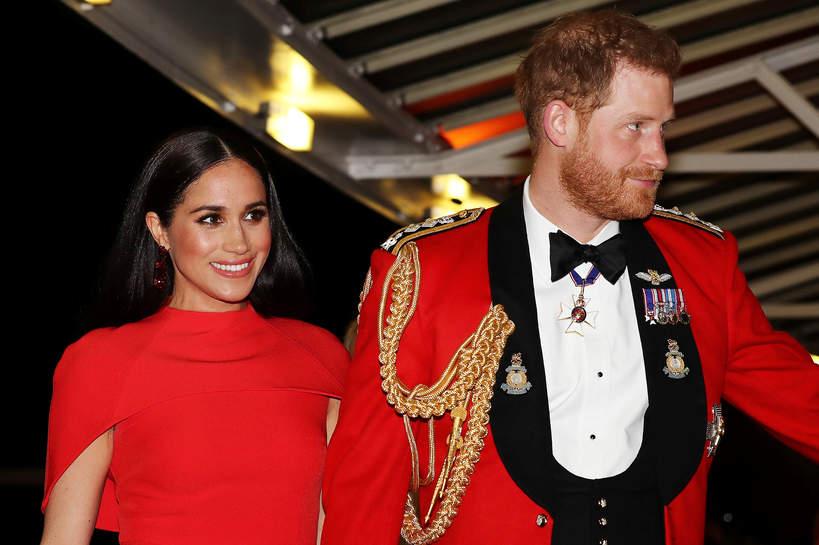 Księżna Meghan 2021, książę Harry