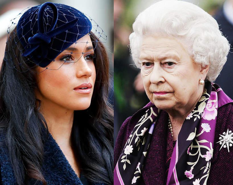 Księżna Meghan chce zniszczyć Elżbietę II?