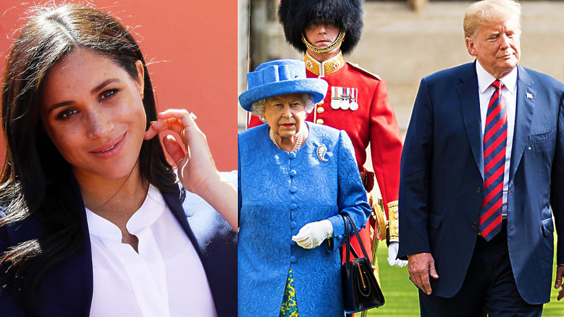 Księżna Meghan, Donald Trump