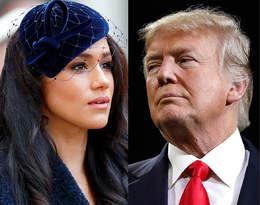 """""""Życzę Harry'emu powodzenia..."""". Donald Trump atakuje księżną Meghan"""